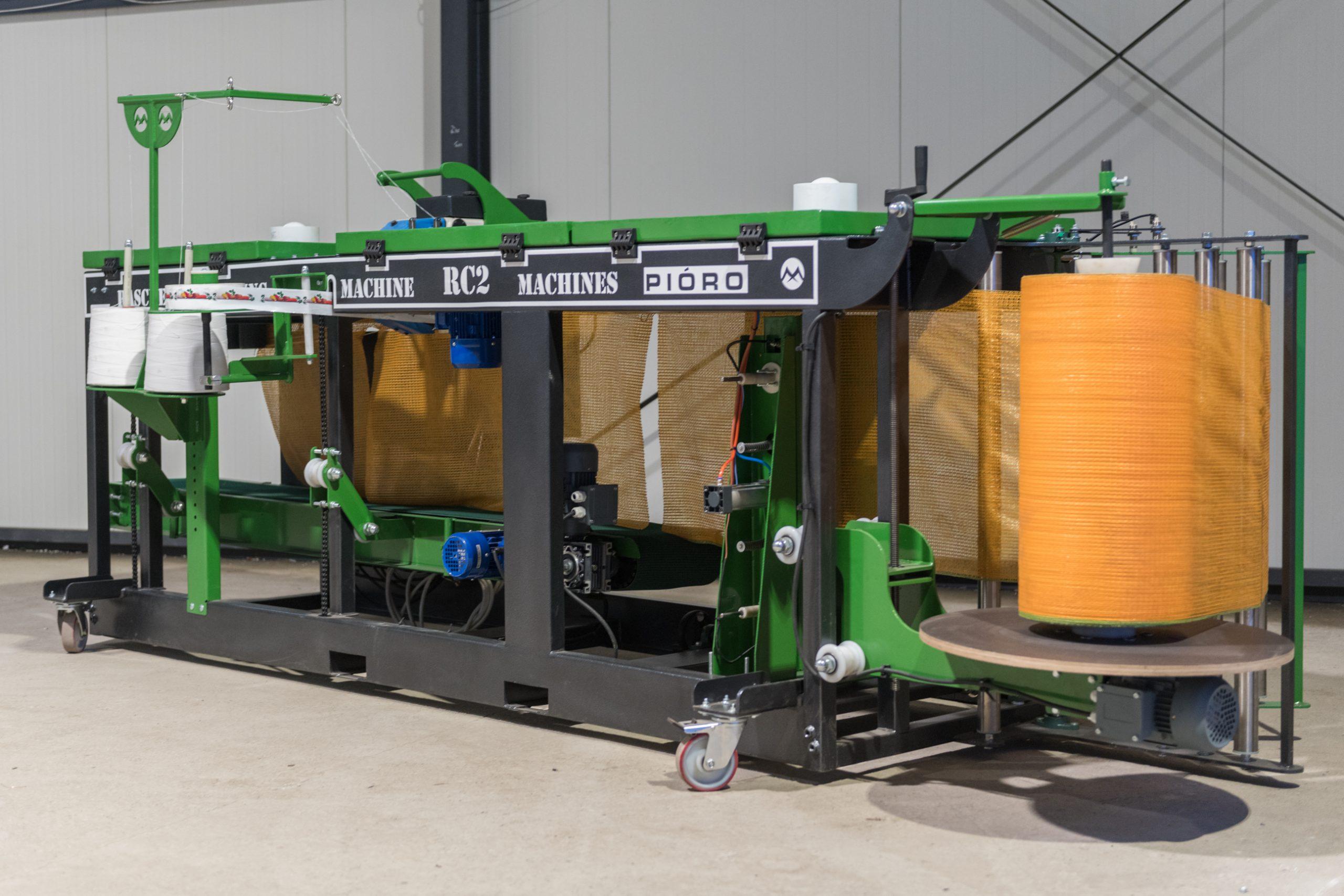 Automatske pakerice u RASCHEL vreće